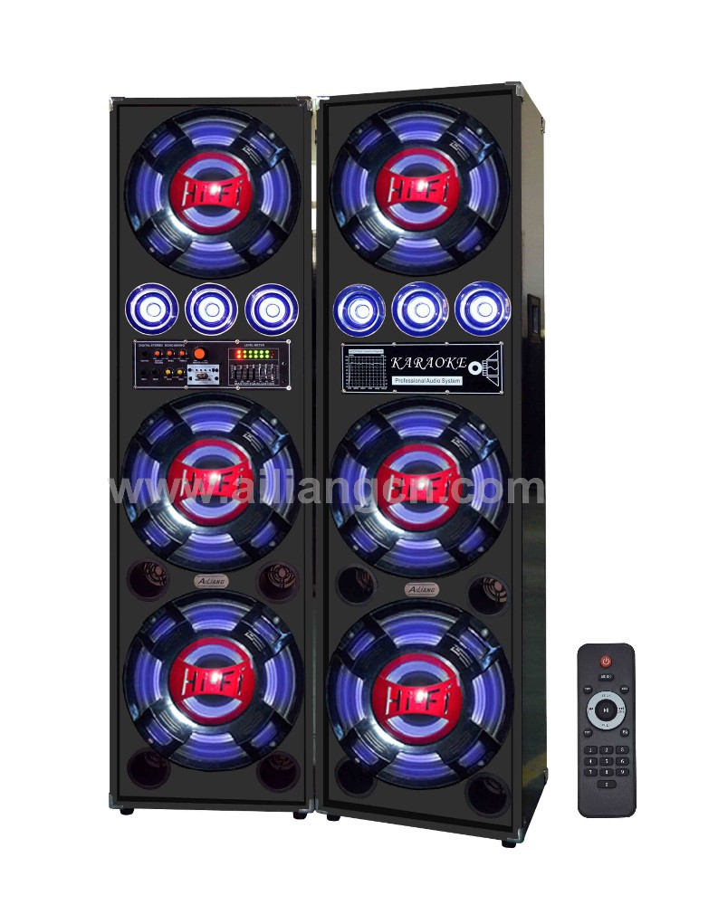 ailiang USBFM-7312B 2.0 professional DJ equipment system stage power speaker