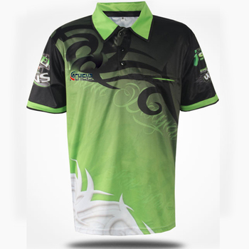 fe311ffd custom team cricket jerseys club racing polo shirts sublimated quick dry  polo
