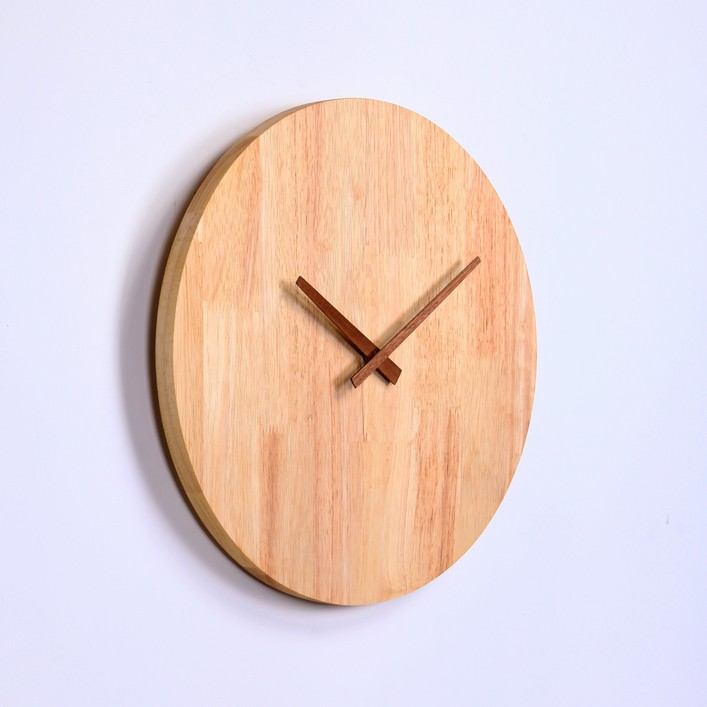 Dm-5 Natural Material Round Simple Design Wooden Wall ...