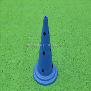 Plastic football soccer marker cones for speed training