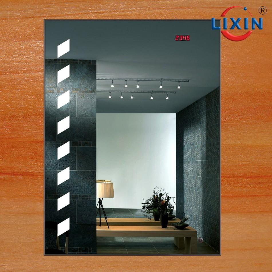 Lujo durable LED cuarto de baño espejo con luz azul, 5mm ecológico ...