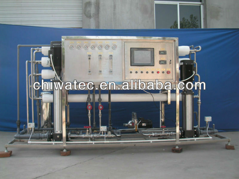 3TPH double pass RO pure water system