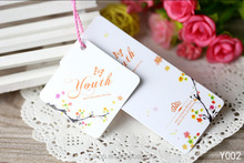Swing Tag Garment Paper Hangtag China Clothing Hang Tag Garment Price Tag