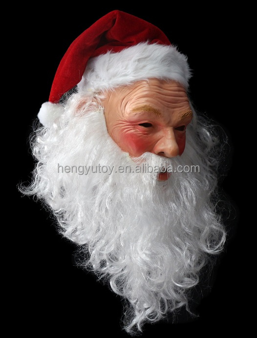 Pleasantly surprised for Chrismas ! 2015 High sound quality newest and popular christmas santa claus face mask