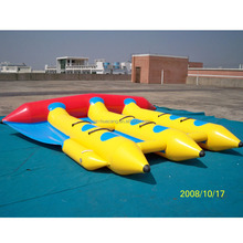 Portable Inflatable Fly Fish Water Toy/ Inflatable Banana Boat Tube Games