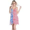 Free shipping 2016 the new fashion sexy deep V halter dresses rayon seaside resort beach dress