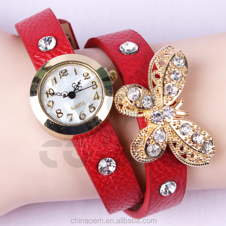 Watches fashion 2015 new ladies quart watch vintage wristwatch analog king girl brand clock for Watches brands for girl