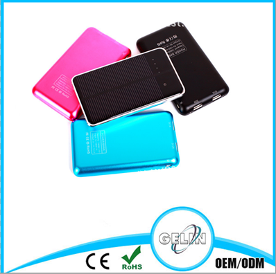 new design promotion gift OEM solar power bank 10000mah private label