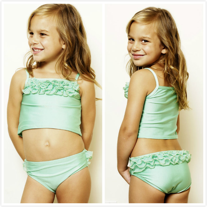 Cute Sexy Kids Swimwear For Girls Teen Girls One Piece