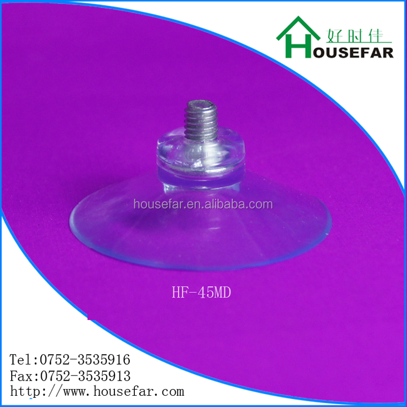 plastic suction cups with screw and nut