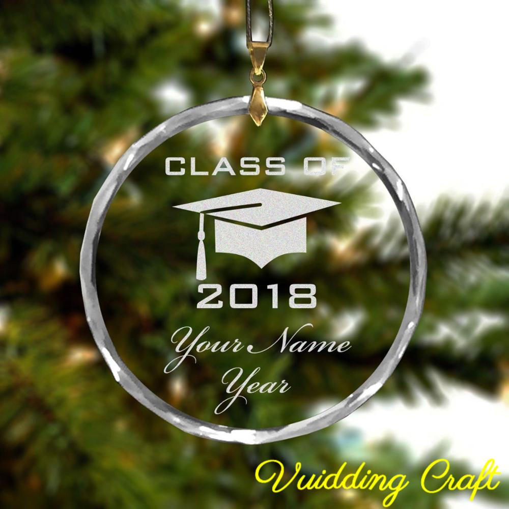 Personalized Engrave Bachelor Hat Ornaments For Graduation Gifts
