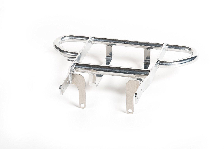2004-2005 Extreme Fabrication Aluminum Cooler Rack Six Pack Grab Bar Yamaha YFZ450 YFZ 450 XFR Silver