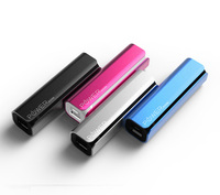 New cheap OEM 2600mah power bank ,mobile power supply,portable lipstick shape small power bank