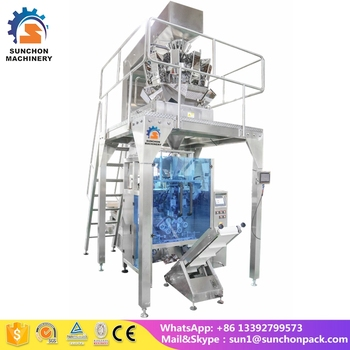 Fully Automatic Frozen Vegetable Frozen Pea Fromzen Chicken Packing Machine