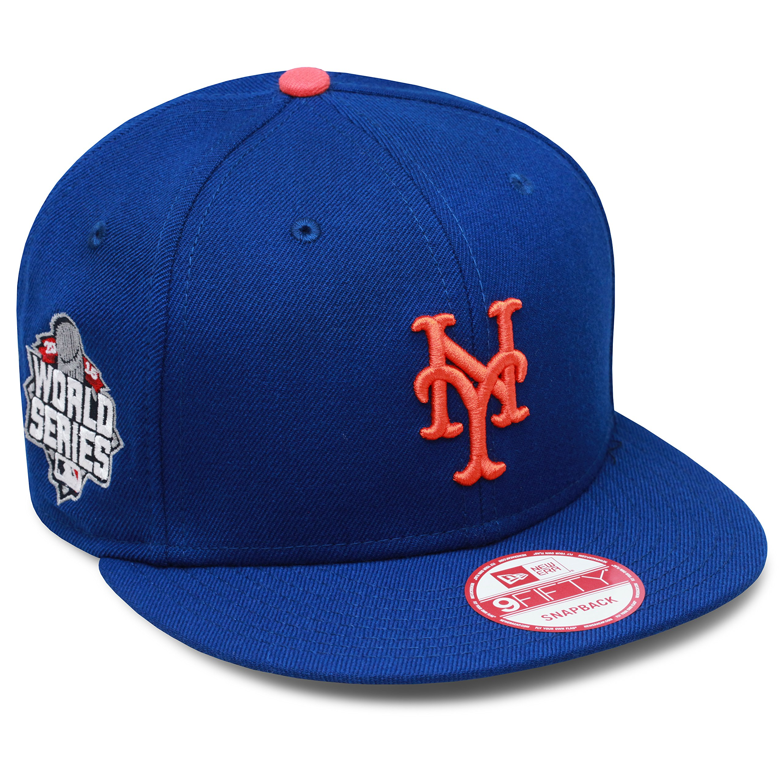 New Era 9fifty New York Mets Snapback Hat Cap 2015 World Series Side Patch 6cdbbd0d581c