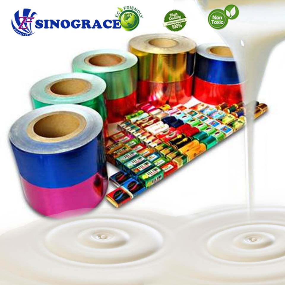 White film for pvc glue/aluminium foil/plaster board