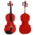 Cheap price Spraying red Colored Violins for student and beginner
