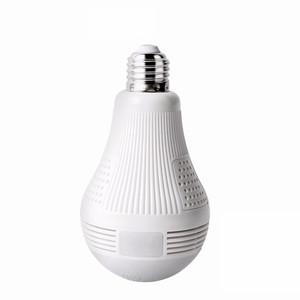 1.3MP WIFI IP Camera Two-way audio CCTV Home Security Alarm P2P Camara E27 LED Bulb Lamp Panoramic Wireless Camera