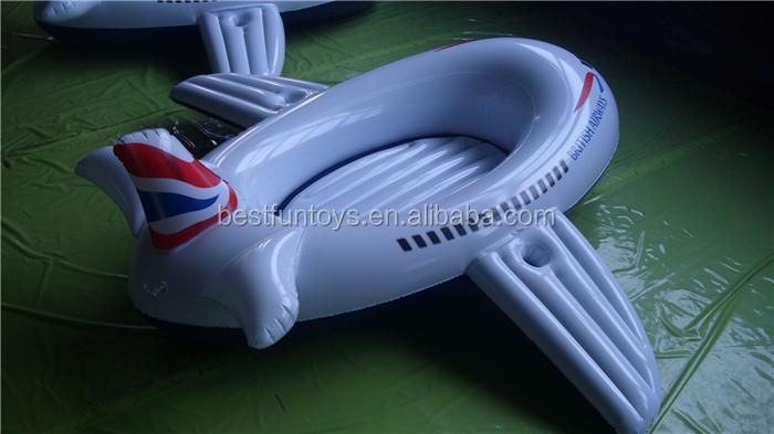 Opblaasbaar zwembad zweven vliegtuig kinderen plastic for Zwembad plastic
