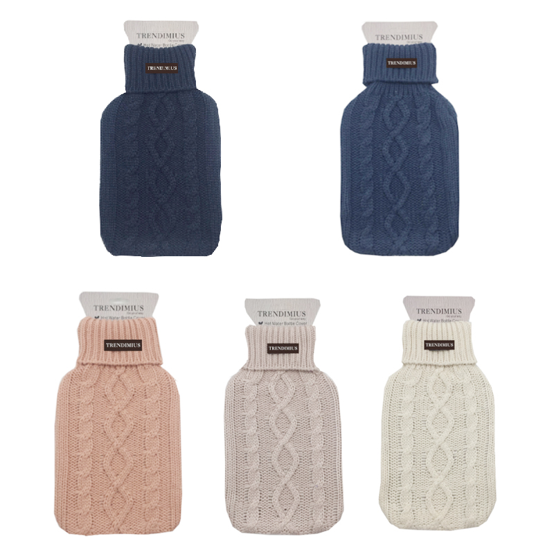 Manufacturers sell top grade 2000ml hot water bottle bag warmer cover