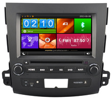 OEM car dvd gps player for mitsubishi outlander car multimedia player with factory price