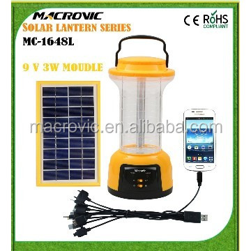 powerful solar outdoor lamp