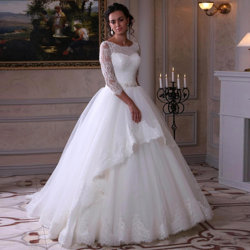 Aliexpress.com : Buy High Quality White Wedding Gown With