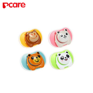 cartoon Funny BPA Free Baby Pacifier with cover