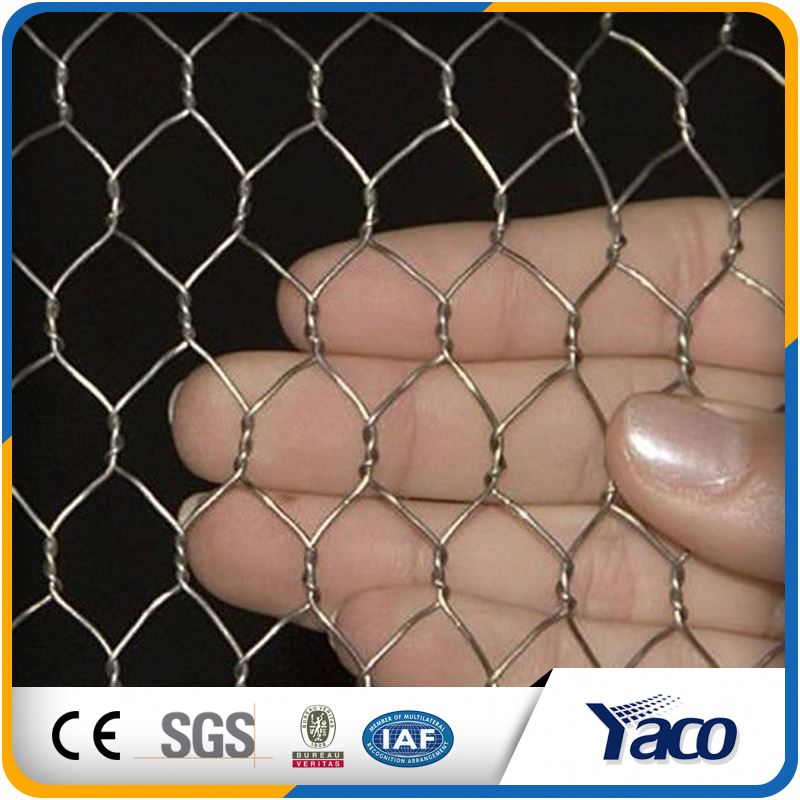 1.28mm 20 gauge pvc coated galvanized hexagonal wire netting