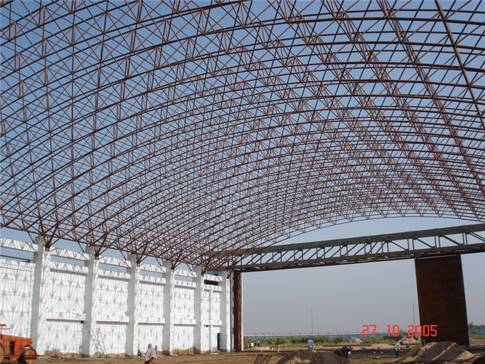 Long Life Span Arch Hangar For Storage Airplane