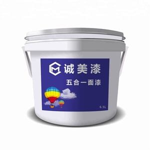 Environment friendly material asian emulsion paint wall putty price with high quality