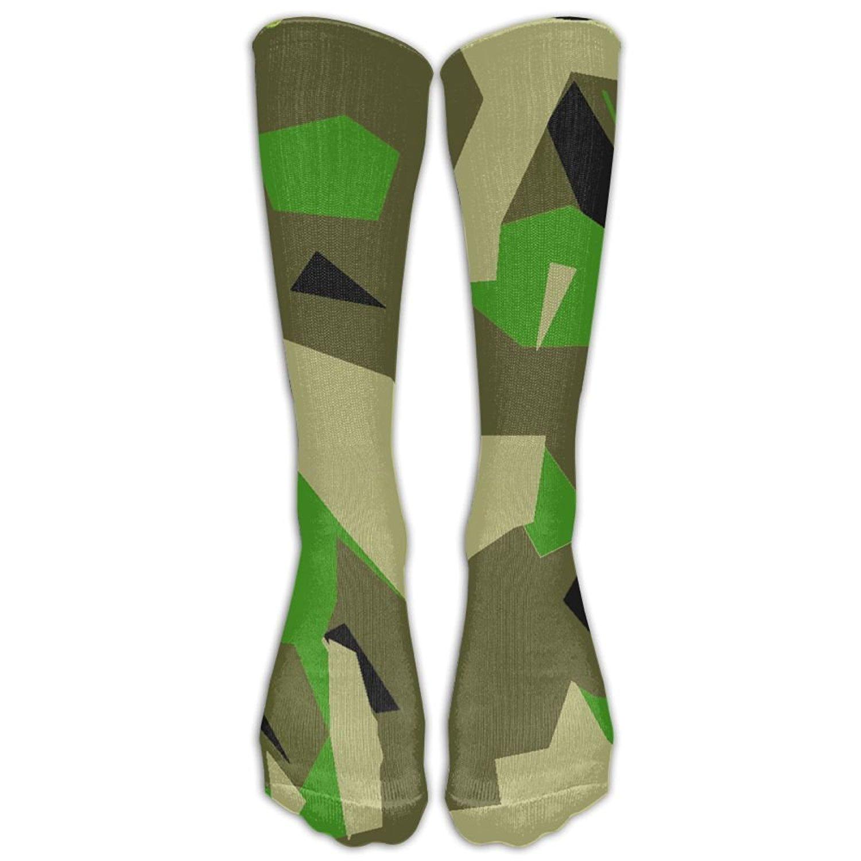 c678f3df8f35c0 Get Quotations · Camouflage High Tie Dye Elasticity Athletic Reliability  Fashion Men Women Knee High Compression Socks Knee Socks