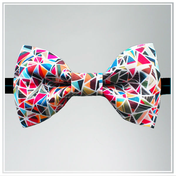 Custom Individual Design Digital Printing Bow Tie