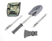 9-IN-1 Mini Camp Shovel Multi Tool