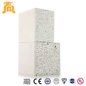 Light Weight 100% Asbestos Free Foam Cement Modern Prefabricated House Board For Luxury Villa Design