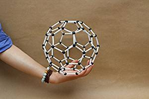 Sangdo Scientific Chemistry Carbon 60 Atom Molecular Model Links Kit C60
