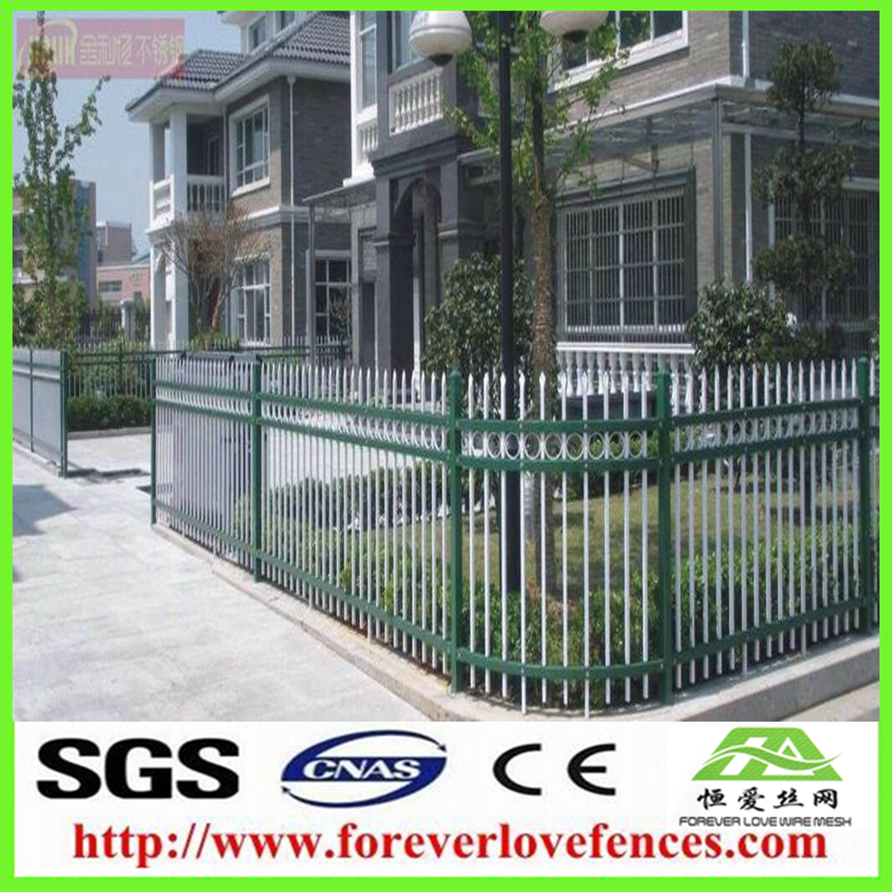 Garden security wrought iron balcony railing fence