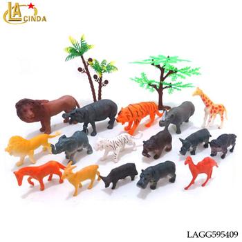 Mini Jungle Animal Toys 4-9cm Small Animal Sofia Plastic Bulk Animal Toys  For Pvc - Buy Bulk Animal Toys,Bulk Animal Toys For Pvc,Sofia Plastic Bulk