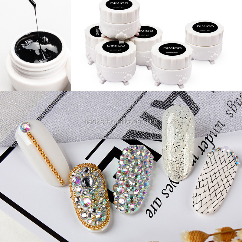 New fashion style Nail painting builder gel Elastic wire drawing gel DIY nail art