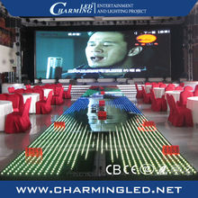 New design video led dance floor for nightclub