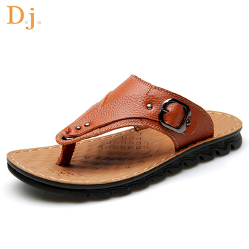 f99c0865be4c Best Quality Real Leather Sandals Men Summer - Buy Hot Sandals ...