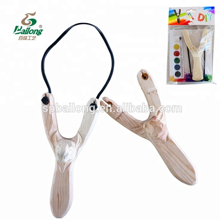 Direct factory CE standard hand carved wooden slingshot