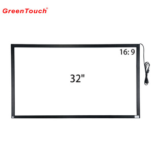 32 inch multi touch screen frame overlay with usb for lcd display