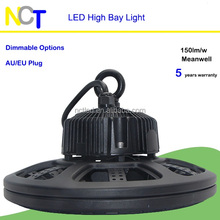Free sample!! Shenzhen Industrial light ip65 100w 150w 200w ufo led high bay light housing with CE RoHS