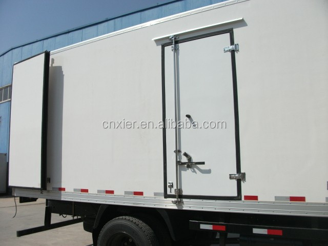 fiberglass Refrigerator truck body box /Refrigerated truck