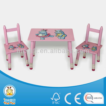 Latest Designed Pencil Family Kids Table And Chair Set/kids Furniture