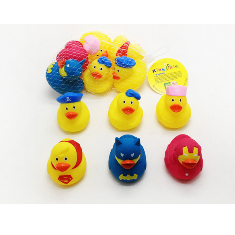 Vinyl toy bath duck toy safe material duck for kid