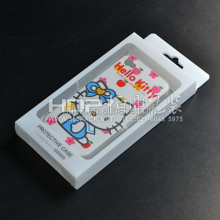 custom phone6/Iphone5/SUMSONG mobile phone packaging box ,clear plastic material