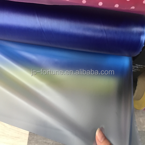 pvc high elastic film for raincoat rainbow rain boot and other waterproof material