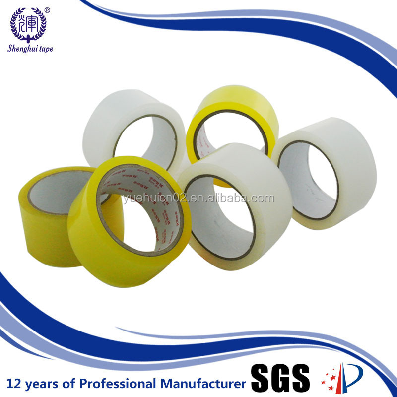 48mm Width Yellow Clear Opp Packing Tape